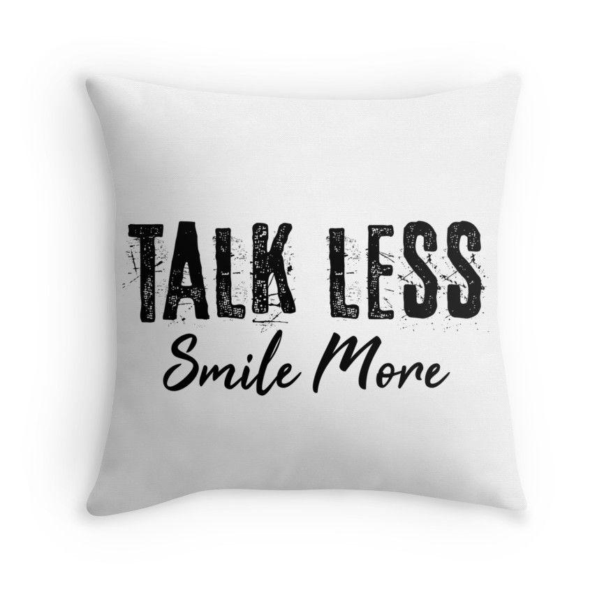 Talk Less Smile More Rocky Hamilton Quote