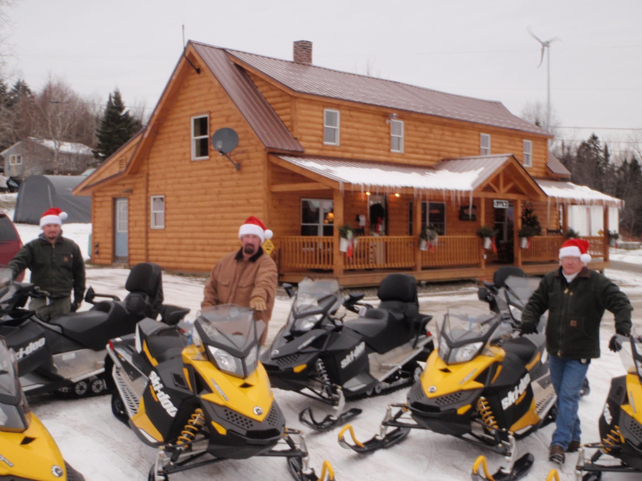 The Day The 2012 Snowmobiles Arrived At The Cabins At Lopstick Pittsburg Nh Http Www Cabinsatlopstick Com Snowmobile Pittsburg Skiing