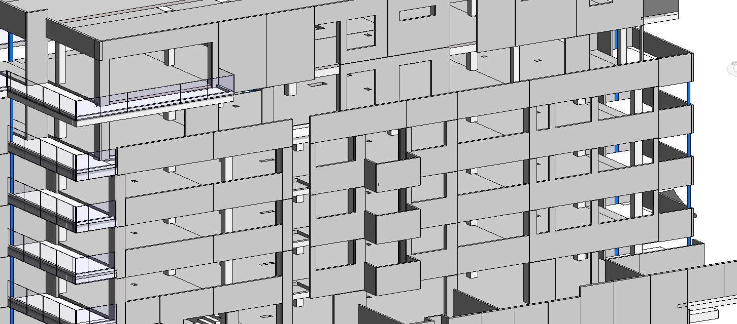 Revit Precast Panels Precast Concrete Brick Cladding Concrete Bricks