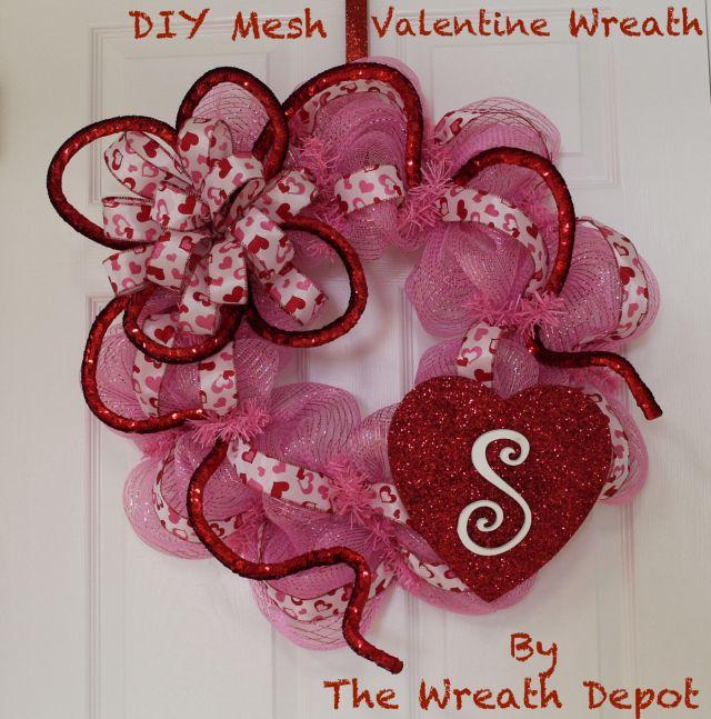 Nice Valentine Wreaths To Make Contemporary - Valentine Ideas ...