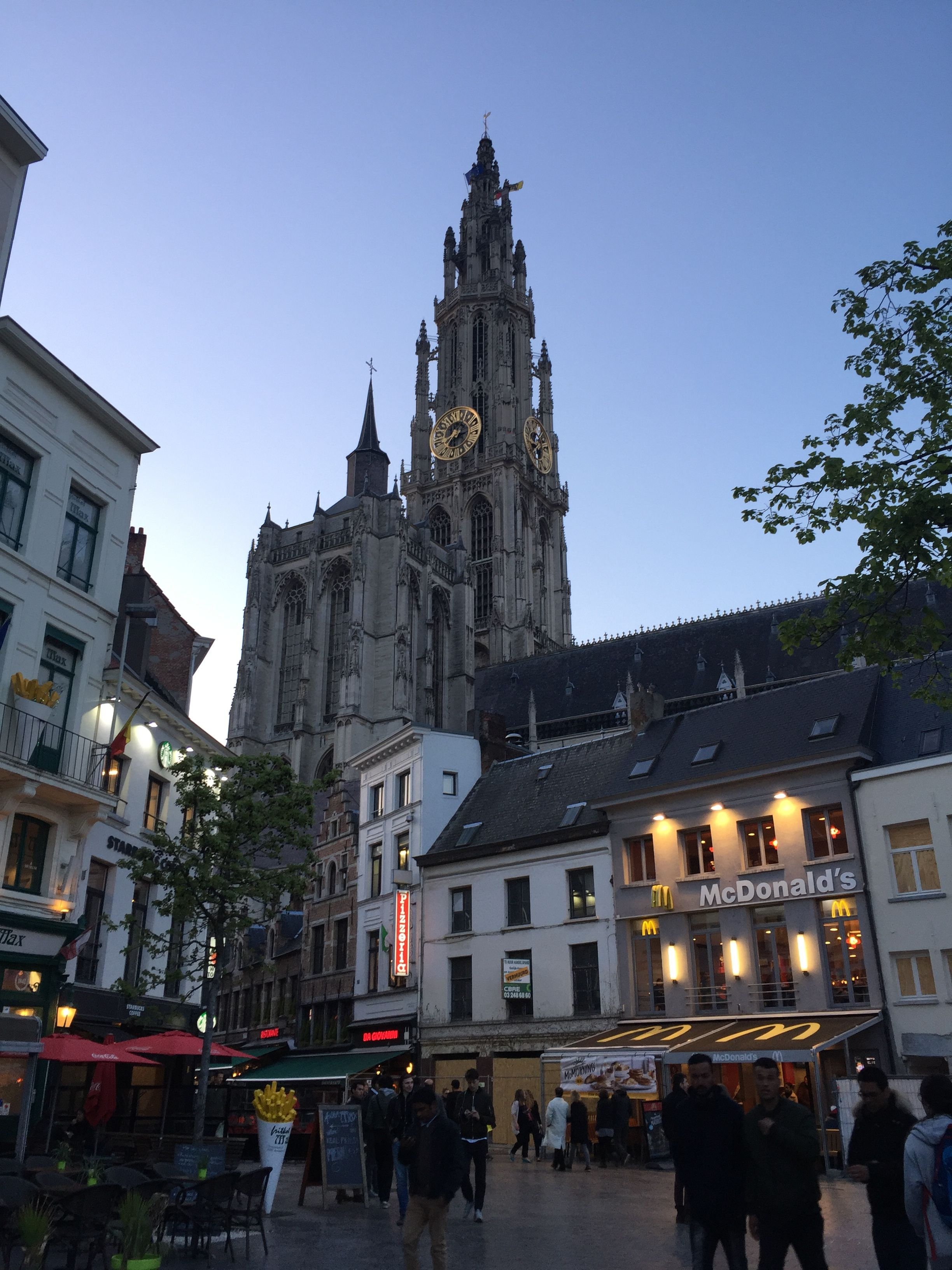 Grote Place en Amberes