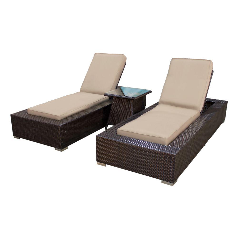 tk classics 3pc combo kokomo outdoor wicker patio chaise lounges