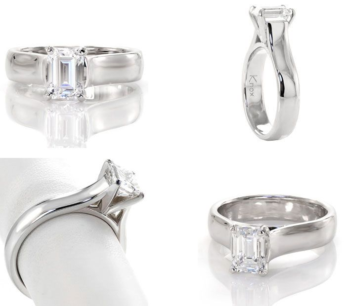 10 Unique engagement rings | Contemporary Engagement Ring | Knox Jewelers | Fab Mood