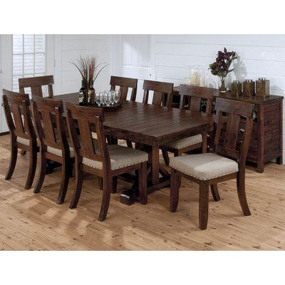 Jofran Urban Lodge 9 Piece Dining Set Wayfair HOME