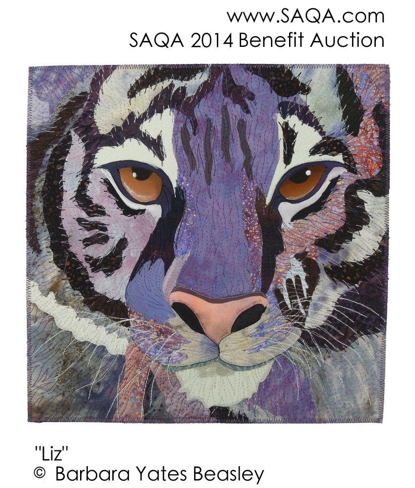 Art quilt by Barbara Yates Beasley #artquilts #SAQA