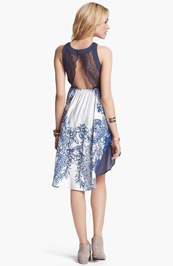 Free People Russian Plate High Low Dress This Always Hens To Me