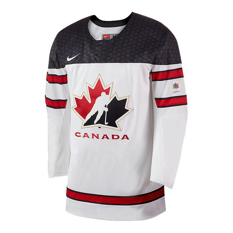 Team Canada Nike Twill Hockey Jersey Avec Images Maillot