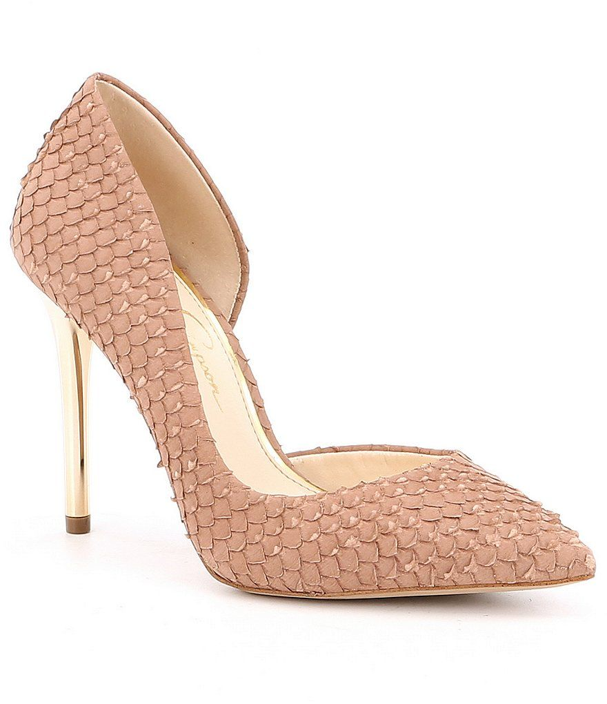 be25bcf9a0 Shop for Jessica Simpson Lucina Leather Snake Print Pumps at Dillards.com.  Visit Dillards.com to find clothing, accessories, shoes, cosmetics & more.