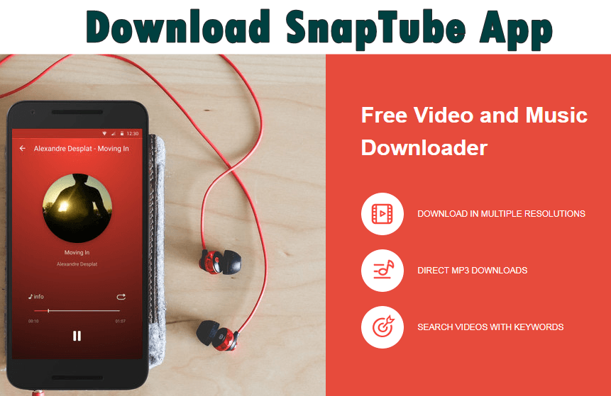 descargar videos de youtube android snaptube