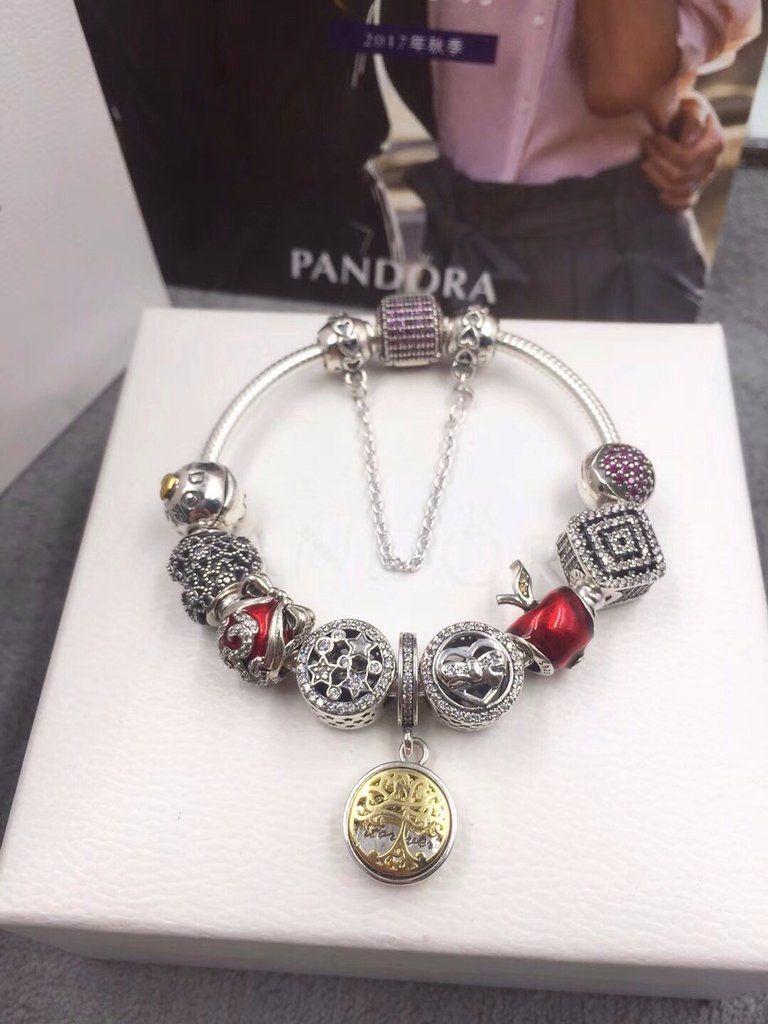 pandora charm bracelet family