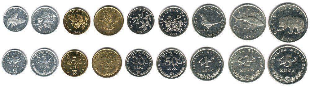 Croatian coins Learn Croatian language Pinterest Coins