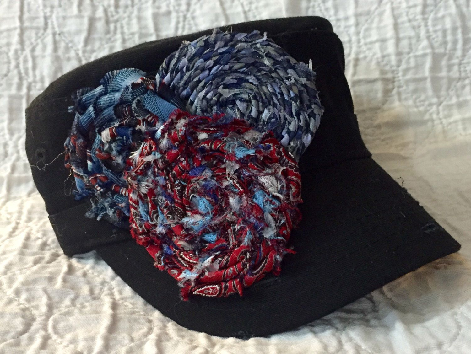 A personal favorite from my Etsy shop https://www.etsy.com/listing/233688042/cadet-hat