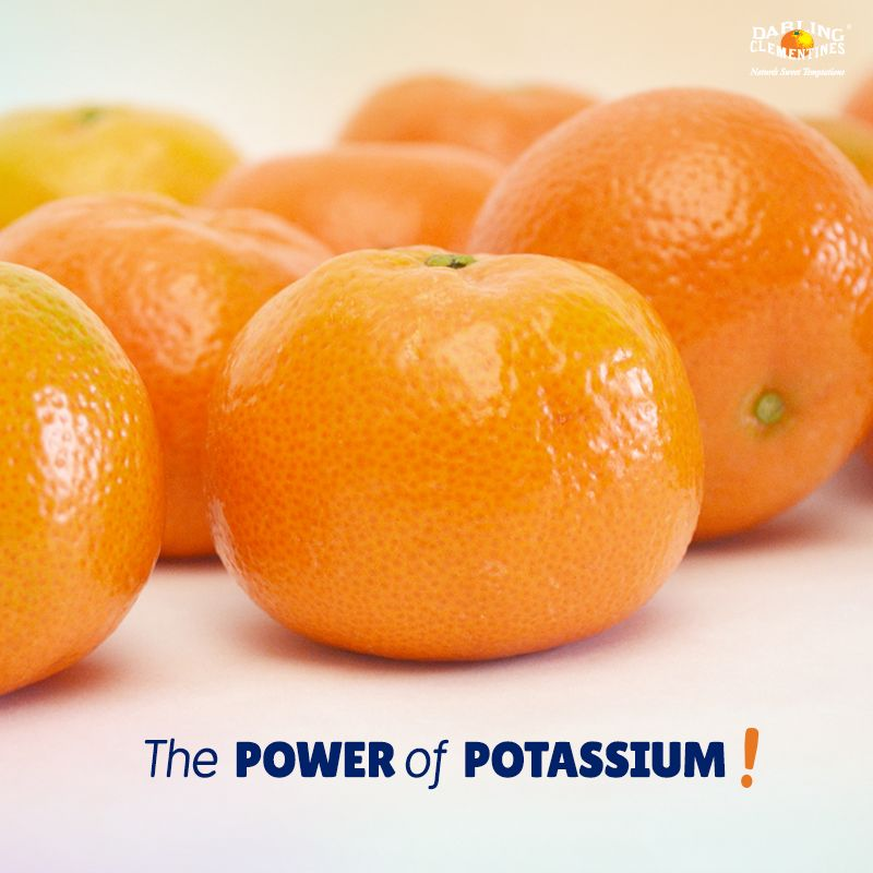 Did you know Darling Clementines pack a punch of potassium ...