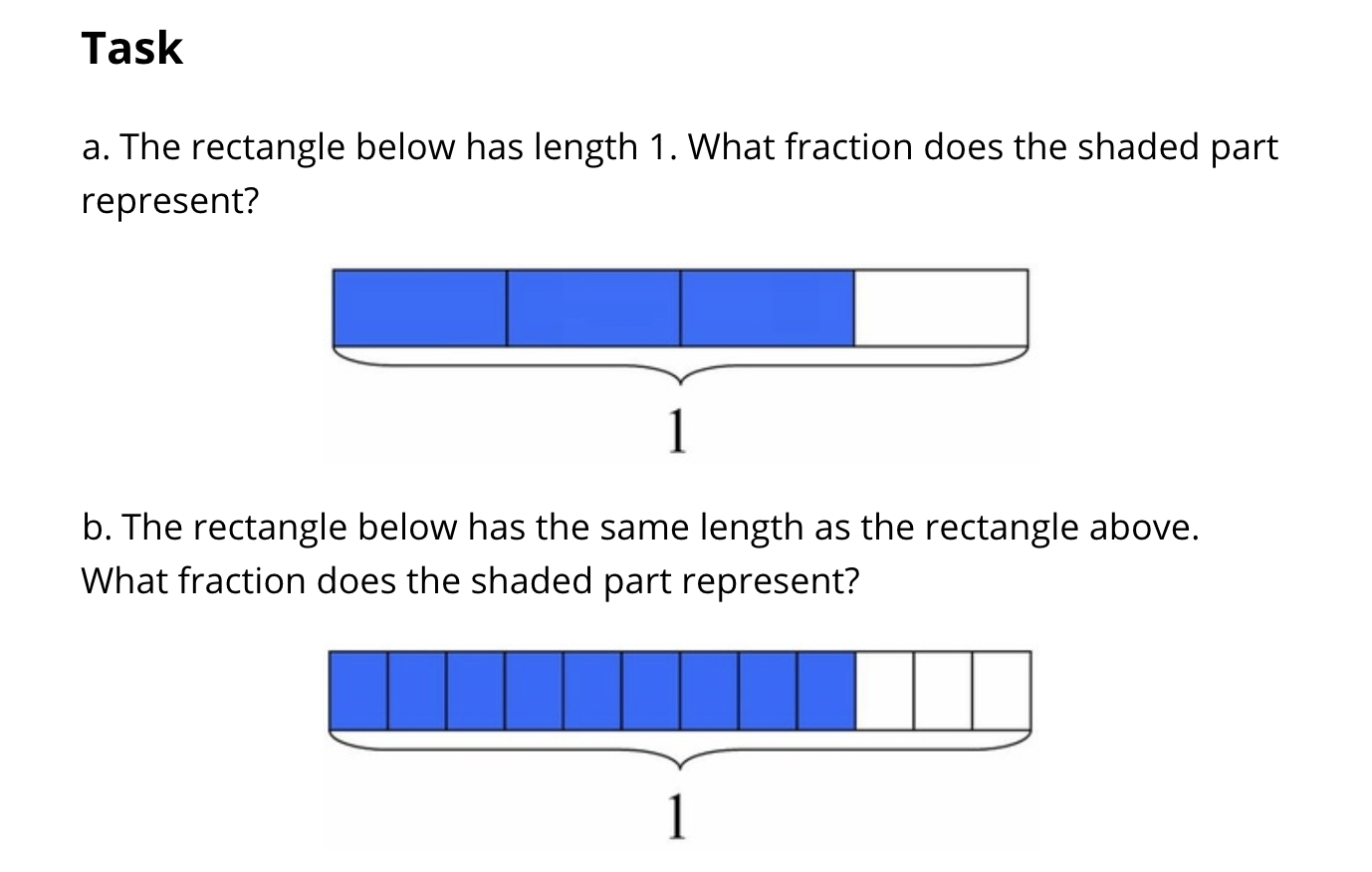 4th Grade Fraction Task Explaining Fraction Equivalence With