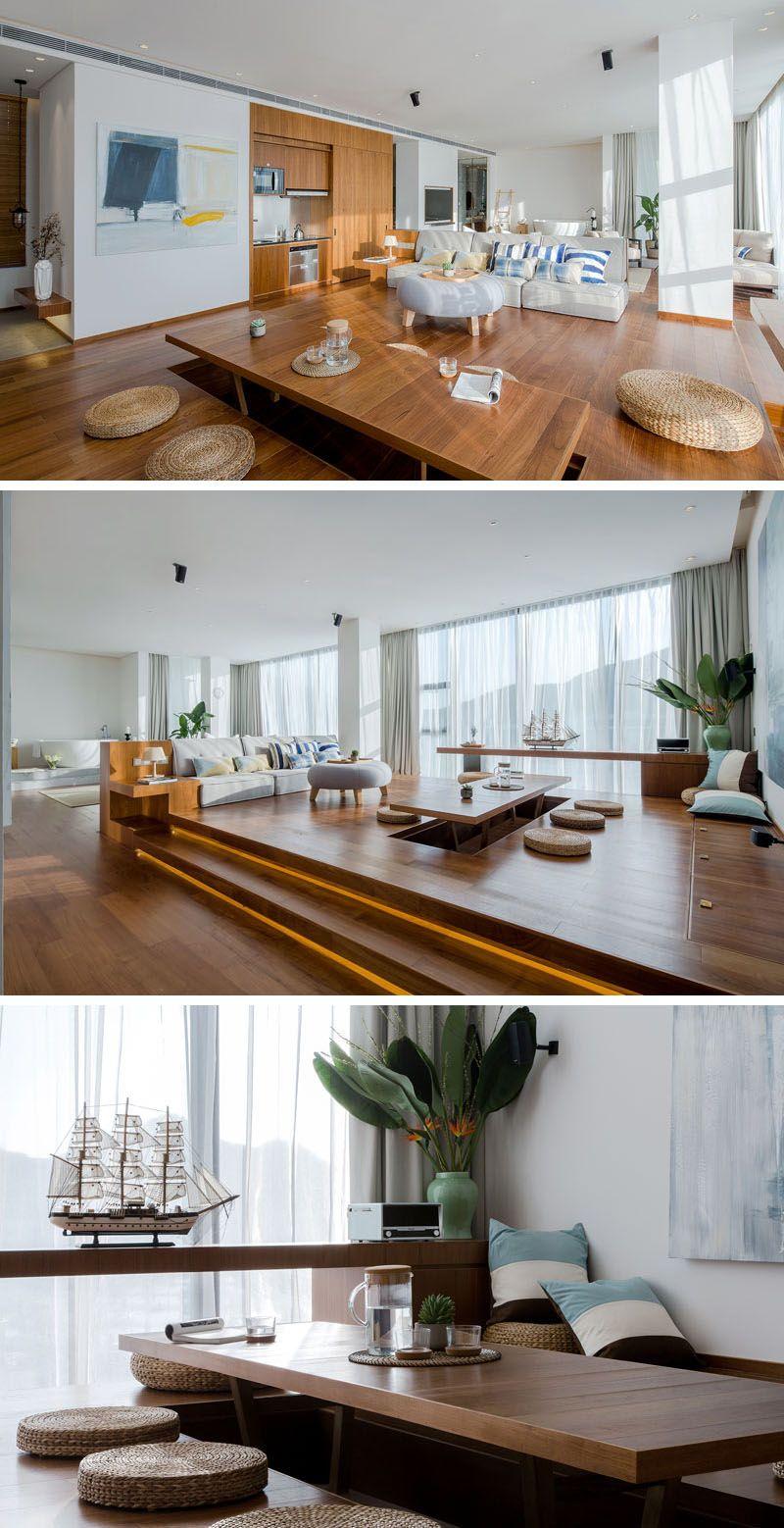 Pin On Living Room #raised #platform #living #room