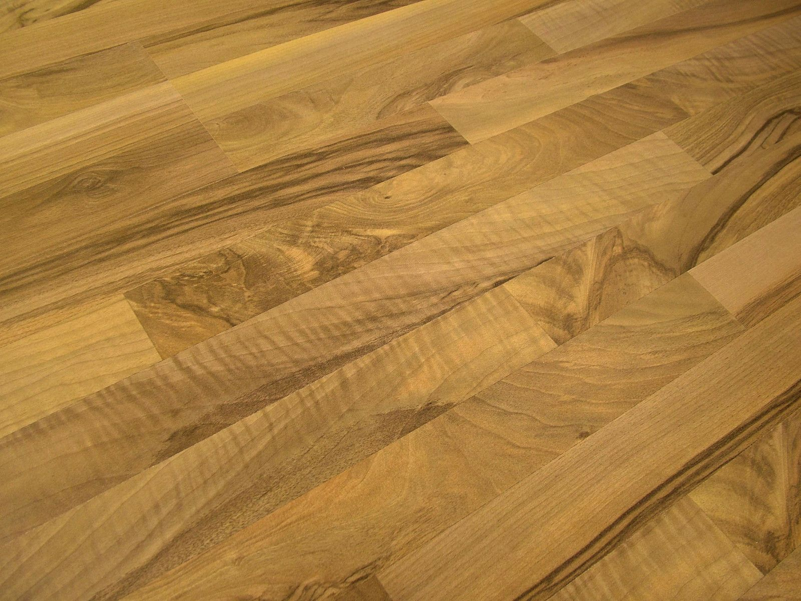 Kronotex Sound Plus Ticino Walnut Together 9mm Laminate Flooring With Attached Pad