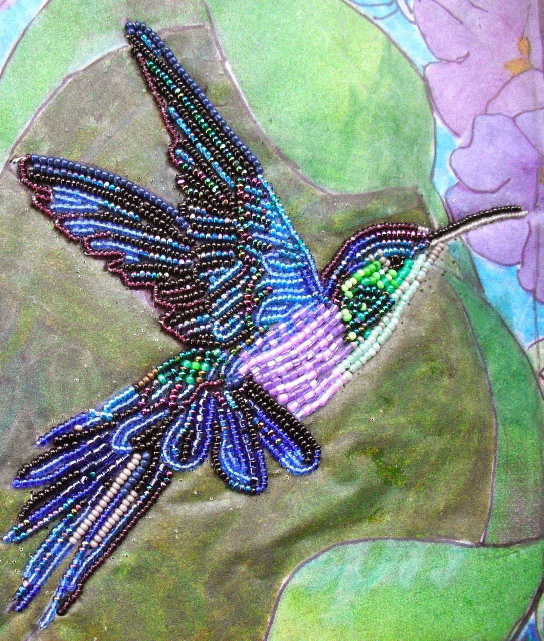 Colibri   Ideas para el hogar   Pinterest   Colibri, Bordado y Pedreria