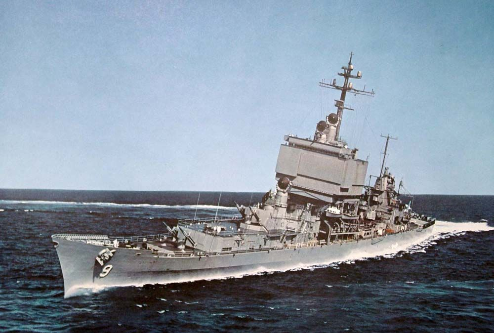 USS Long Beach