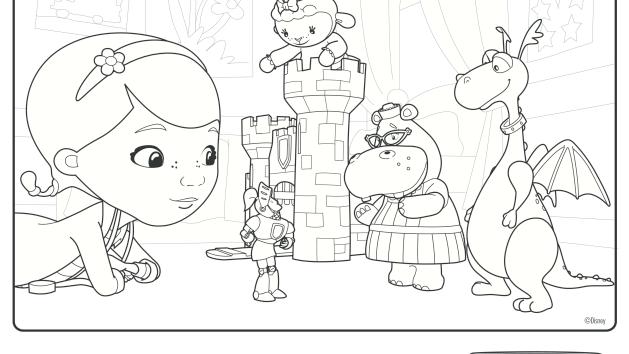 We Have A Diagnosis Disney Junior Doc Mcstuffins Coloring Pages Doc Mcstuffins Disney Quilt
