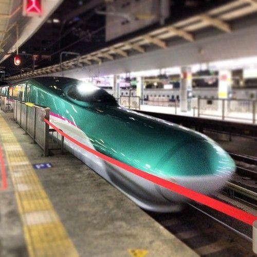 東京駅乗換電車来た!