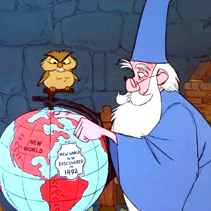 The Sword in the Stone (I will love Archimedes for always and forever)