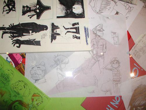 Drawing Gorillaz