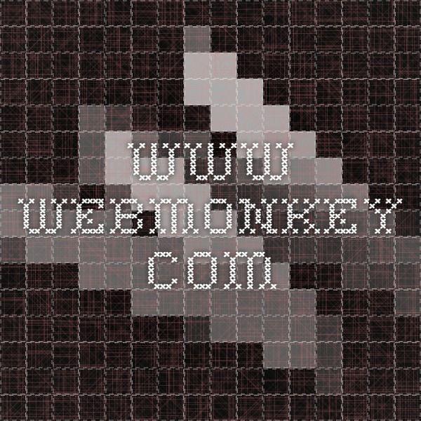 Html Cheat Sheet Web Monkey Randomosity Pinterest Texts