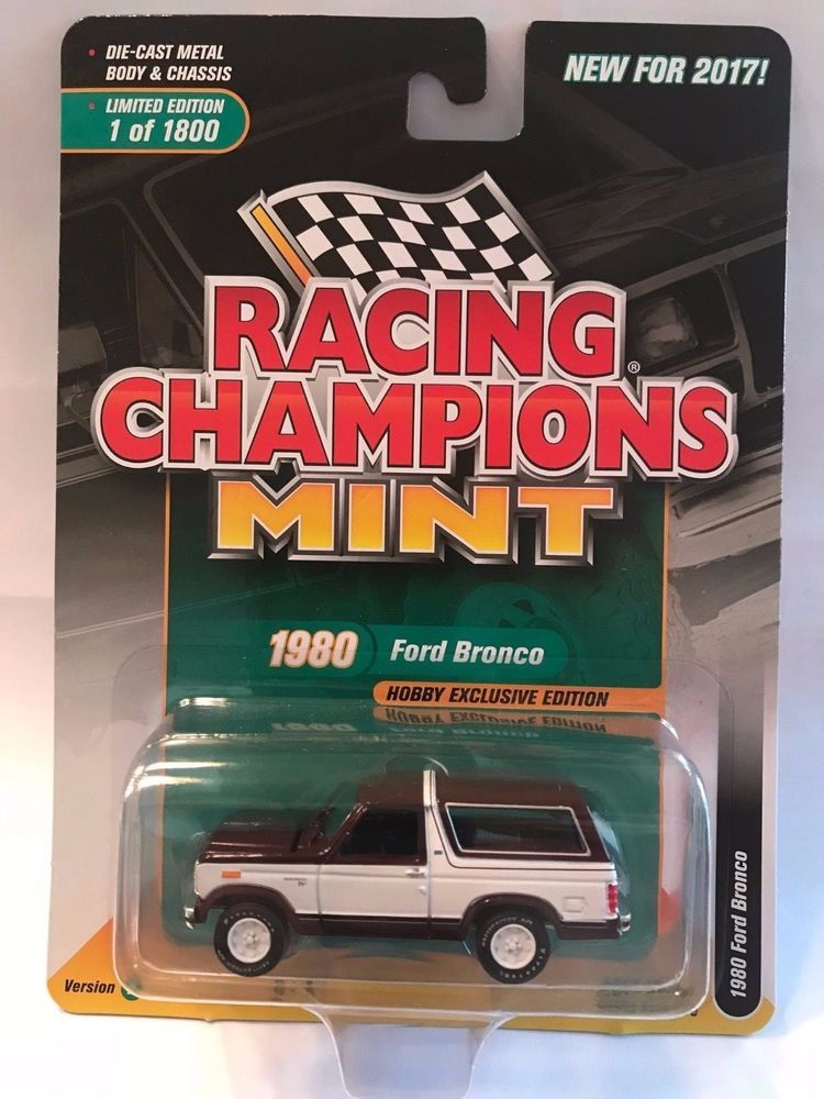 1//64 RACING CHAMPIONS 1980 Ford Bronco Maroon w//White