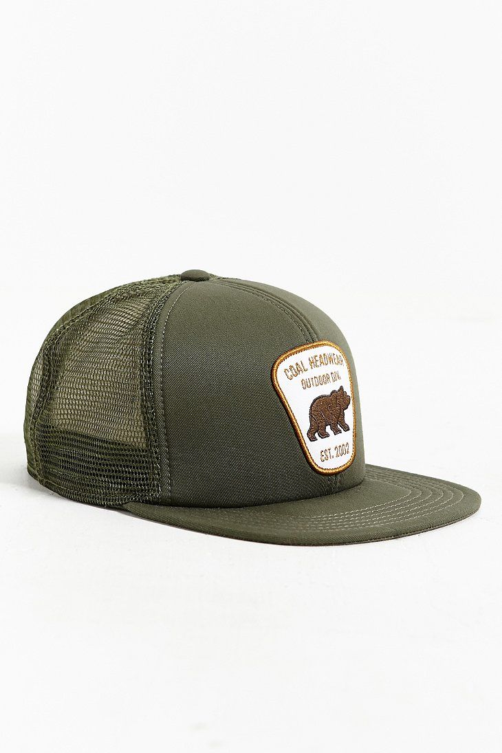 d28847afb5e Coal The Bureau Snapback Trucker Hat Mens Trucker Hat