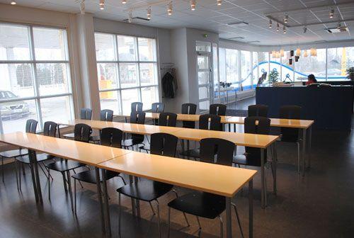 Autokoulun sisustus - Elimäen Liikennekoulu #sisustusminna #sisustussuunnitteluminna #autokoulu #drivingschool