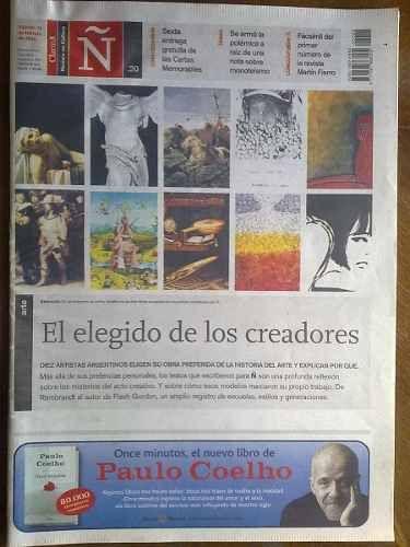 Revista Ñ Cultura Clarín Número 20: Elegido Creadores Cartas en venta en San Rafael Mendoza por sólo $ 25,00 - CompraCompras.com Argentina