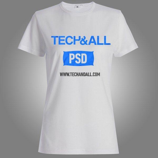 Download Female T Shirt Mockup Psd Tshirt Mockup Shirt Mockup Cool T Shirts