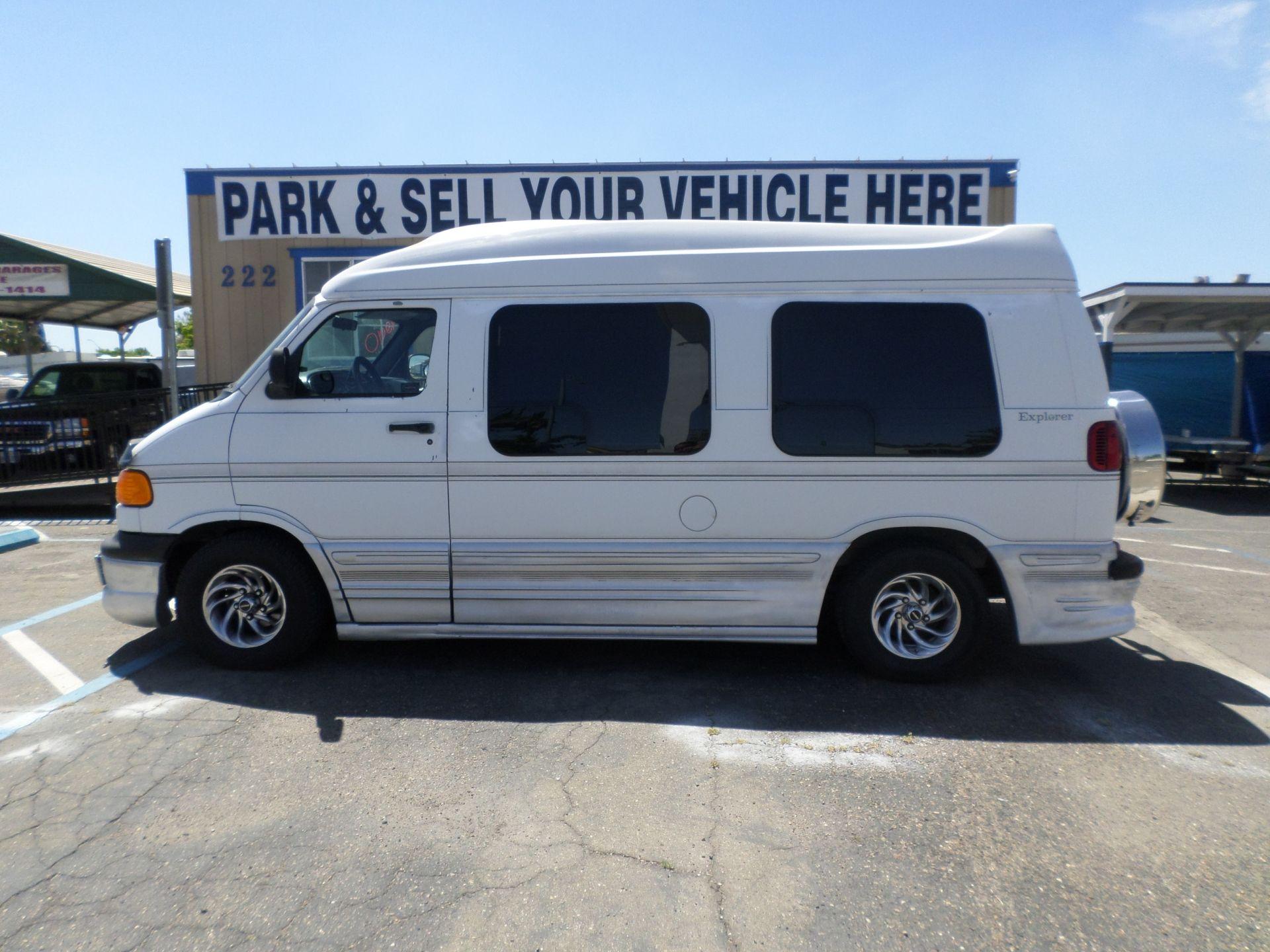 Van For Sale 2000 Dodge Ram Van 1500 Explorer Conversion Van In Lodi Stockton Ca Dodge Ram Van Van For Sale Ram Van