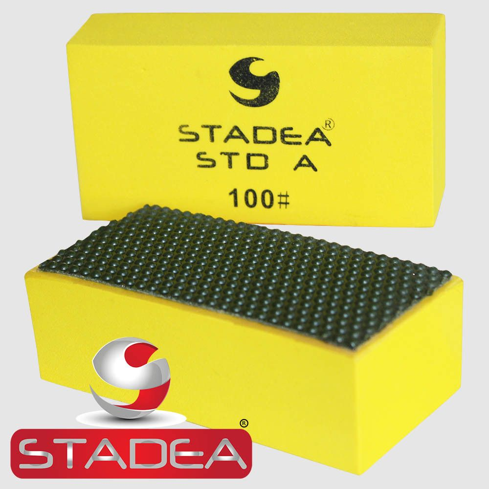 Stadea Diamond Sanding Blocks Hand Pads For Marble Glass Concrete
