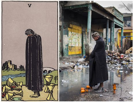 'The Ghetto Tarot': Haitian artists transform classic tarot deck into stunning real life scenes | Dangerous Minds