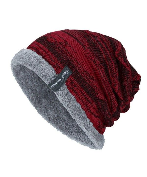 ec3fc678a34384 Fluffy Panel Triangle Label Thicken Knit Hat | Christmas | Knitted hats, Knit  beanie, Beanie hats