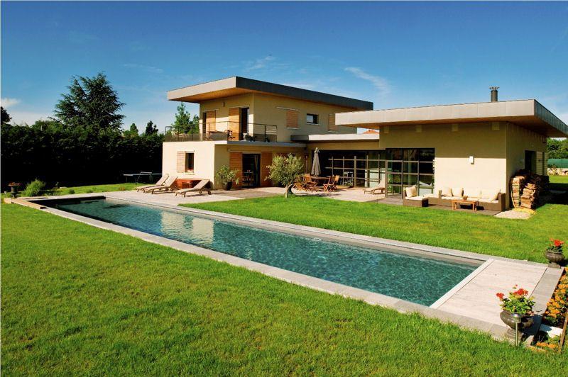 Les meilleures maisons BBC en béton en France Mid-century modern - qu est ce qu une maison bioclimatique
