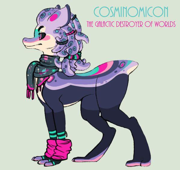 Cosminomicon The Galatic Destroyer by SinCommonStitches.deviantart.com on @DeviantArt