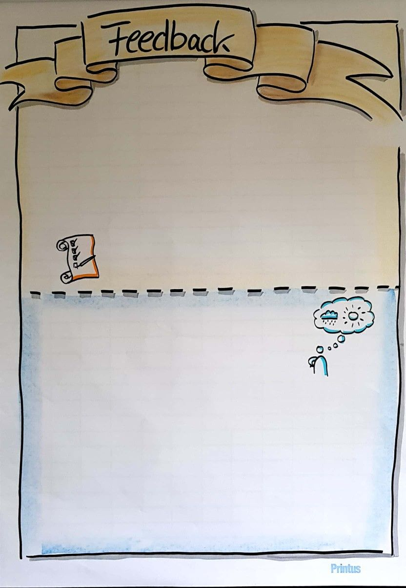Flipchart Feedback Methode Seminar Training Schule Flip 2