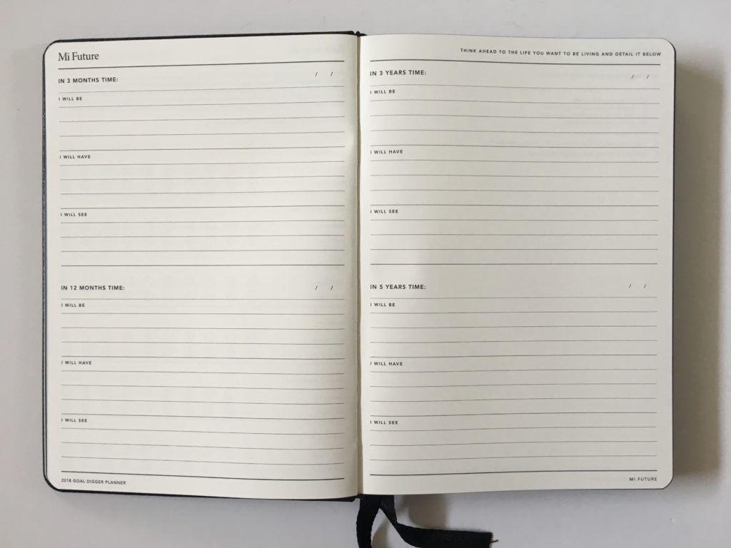 mi goals goal setting planner short term long term worksheet ...