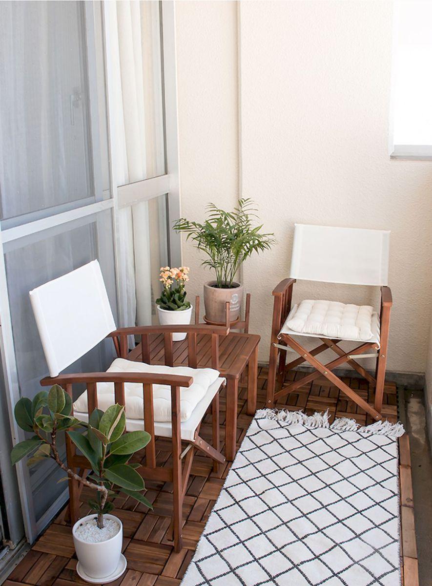 Unique Apartment Balcony Furniture Ideas
