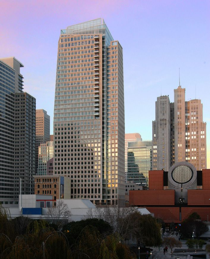 Downtown S Foreman Clark Building To Become 124: St. Regis Hotel And Museum Tower • ACI 2004 Construction