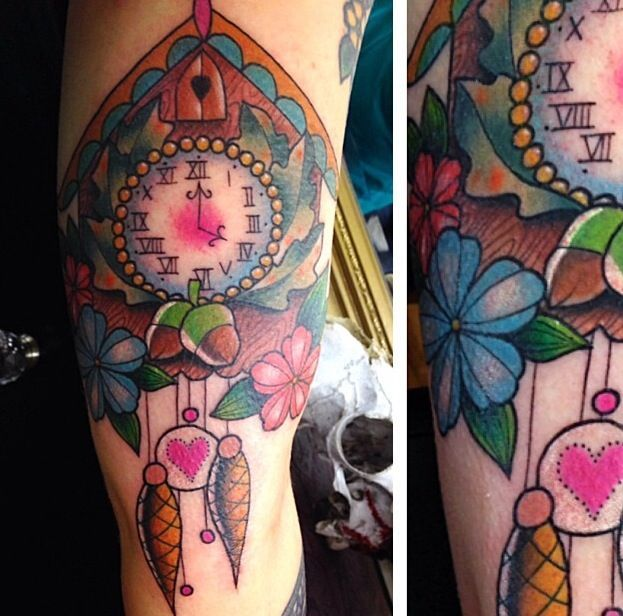 Traditional cuckoo clock tattoo meaning google search for What does a clock tattoo mean