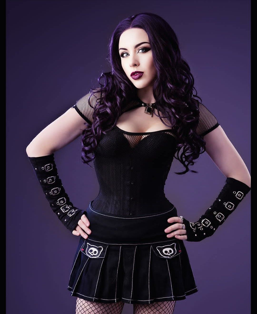 Beautiful Goth Women Gothic