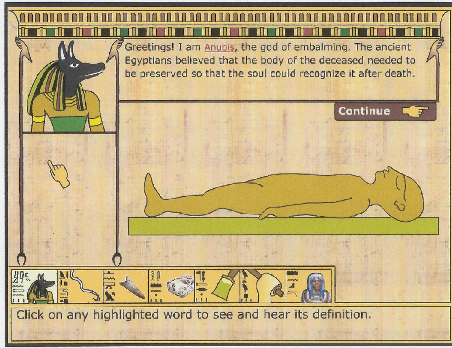 Make A Virtual Mummy This Link Does Not Contain