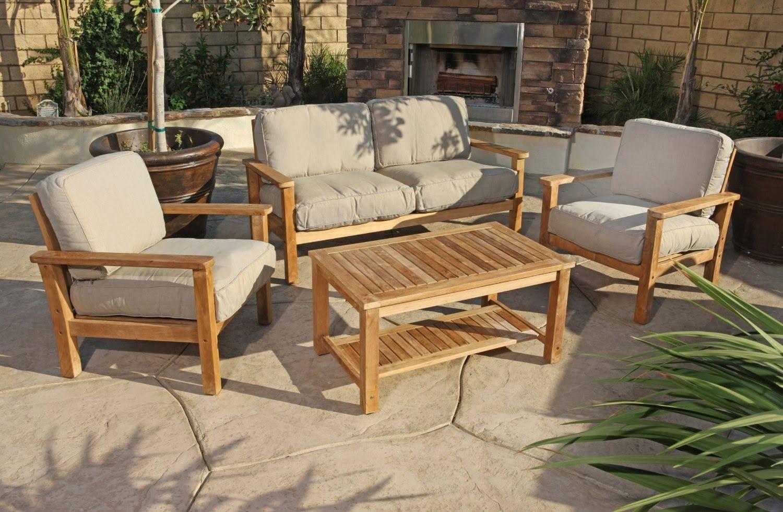 furniturebeautiful wood frame sofa outdoor discount taek