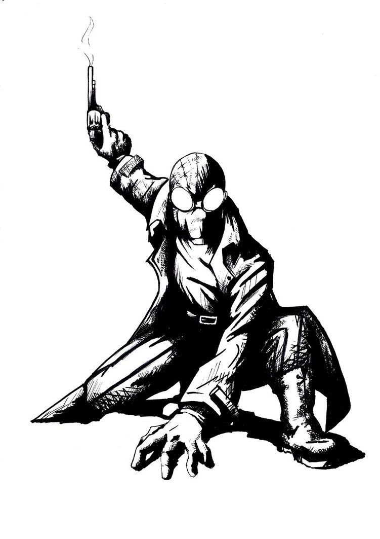 amazing spider man noir artwork by rob marin marvel u0027s the