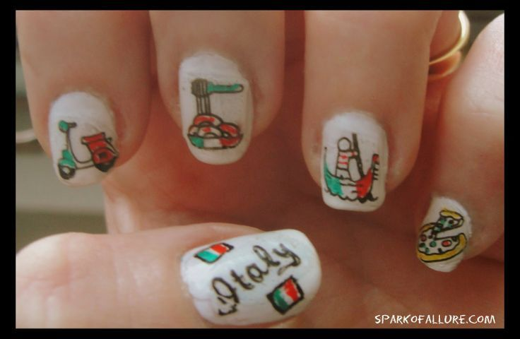 Italian Nails Dolce Vita Italy Inspired Nail Art Nails