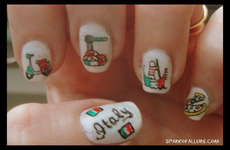 italian nails | Dolce Vita! Italy inspired Nail Art | | Nails ...
