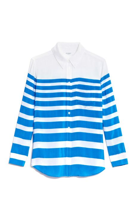 Reese Lucky Stripe Printed by equipment Now Available on Moda Operandi